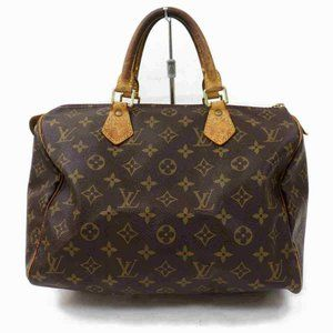 Auth Louis Vuitton Speedy 30 Hand Bag #6968L15